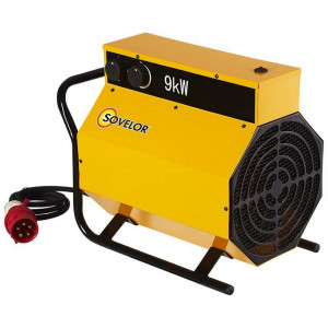 Chauffage secours9KVA Triphasee
